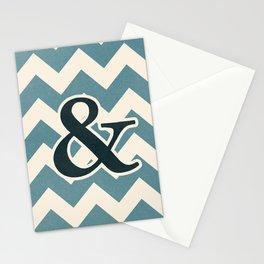 Janson Italic Ampersand Stationery Cards