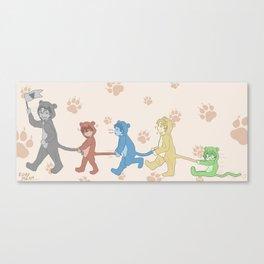 Voltron Kids Canvas Print