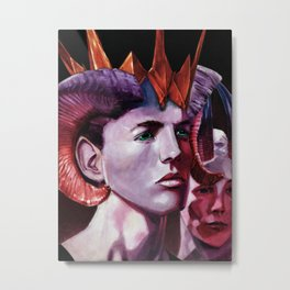 The Satyrs Metal Print