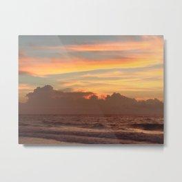 Sunrise on Ocracoke Island - 3 Metal Print
