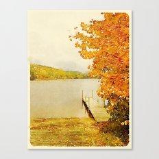 Crystal Lake, Maine Canvas Print