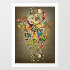 Another Strange World Art Print
