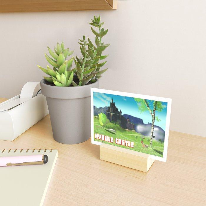 Hyrule Castle Post Card Mini Art Print