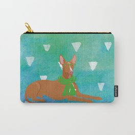 Pharaoh Hound Watercolour Carry-All Pouch