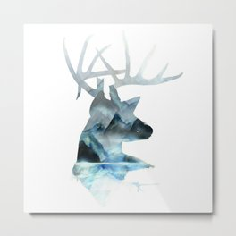 Glacier buck Metal Print