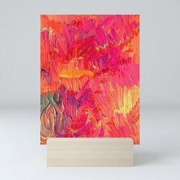 Neon Sky Map Mini Art Print