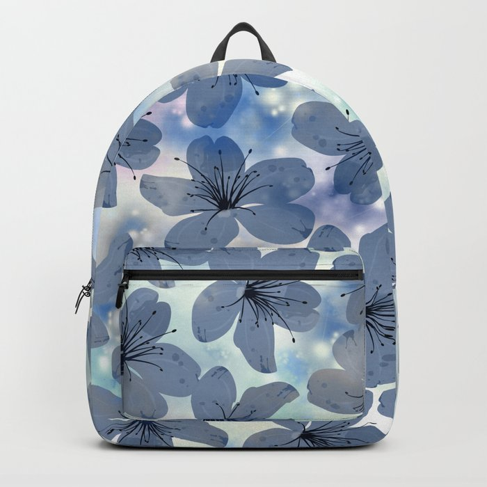 Floral Pattern C Backpack