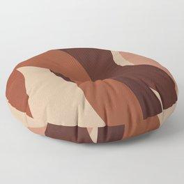 Skin Tones Women Diversity - Boho, Earthy Tones Floor Pillow