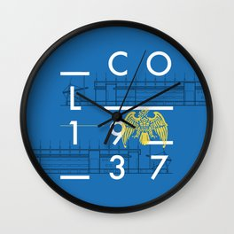 Weston Homes Community Stadium - Colchester United Wall Clock