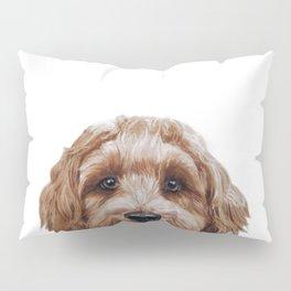 Labradoodle Brown Original  Pillow Sham