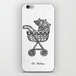 Oh Baby Carriage iPhone Skin