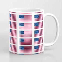 american flag 2-Usa,america,us,stars and strips, patriotic,patriot,united states,american,spangled Coffee Mug