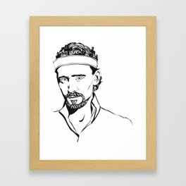 Tom Hiddleston as Henry V Framed Art Print