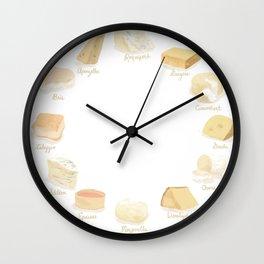 Cheese Revamp Wall Clock