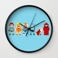 thundercats Wall Clocks featuring Thundercats by Pixel Icons