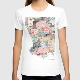 Los Angeles map T-shirt