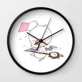 Struggling Mog Wall Clock