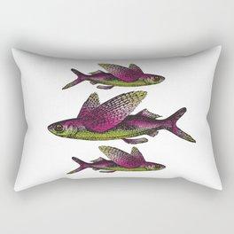 Flying Fish | Vintage Flying Fish | Rectangular Pillow