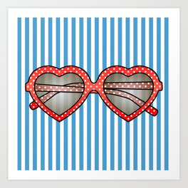 Summer Sunnies Art Print