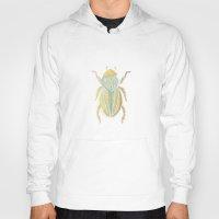 beetle Hoodies featuring Beetle by Very Sarie