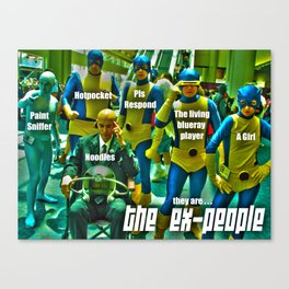 The Ex-People Canvas Print