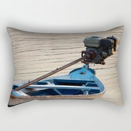 Amazon Boat Rectangular Pillow