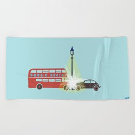 There is a Light Beach Towel