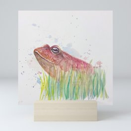 Handsome Frog Mini Art Print