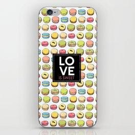 Love is sweet. iPhone Skin
