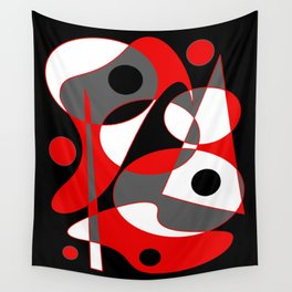 Abstract #855 Wall Tapestry