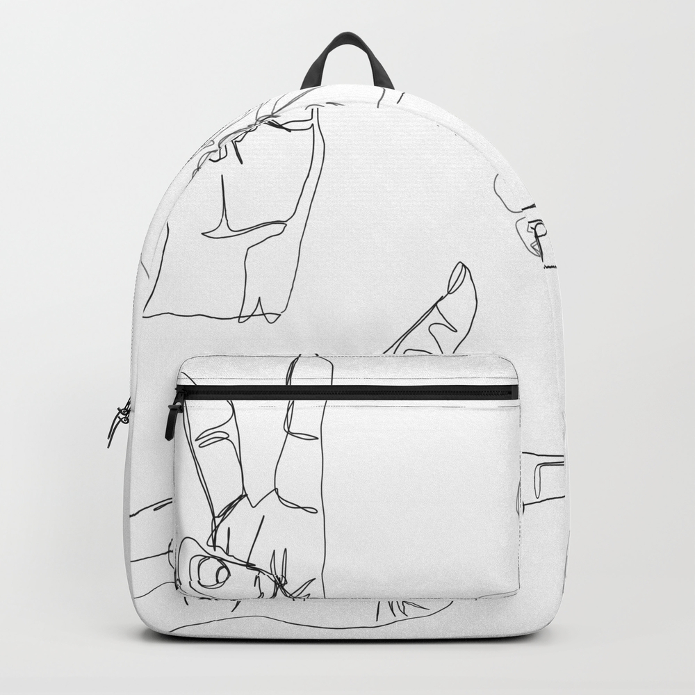 Hands On Hands Off Backpack by Melcoleman BKP8613995