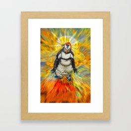 Hermanus Wobble Framed Art Print