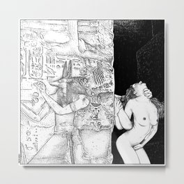 asc 580 - Le passage (Let me take you to the other side) Metal Print