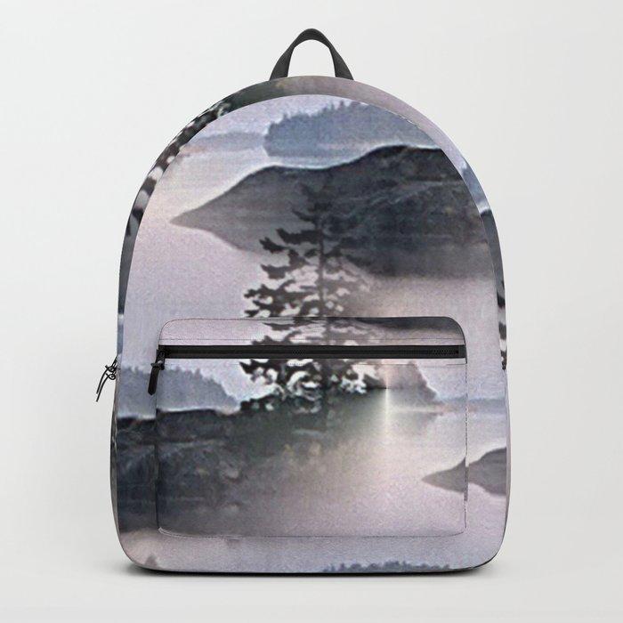 Misty Glow at Archipelago Backpack