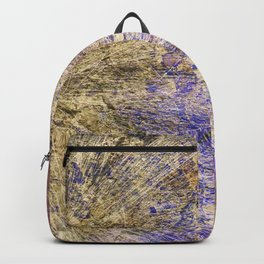 Purple Gold Backpack