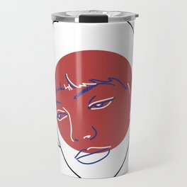 Nana (Vivre Sa Vie - Jean-Luc Godard) Travel Mug