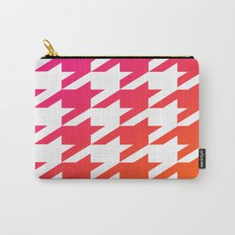 Houndtooth Carry-All Pouch