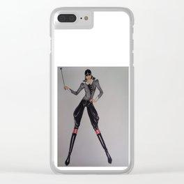 Elegant Horserider Clear iPhone Case