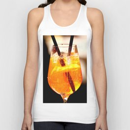 Cheers! Cocktail Drink #decor #society6 Unisex Tank Top