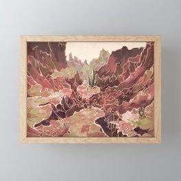 Petal Valley Framed Mini Art Print