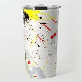 Paint Splatter Travel Mug