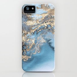 Gold immersion iPhone Case