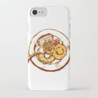 dessert iPhone & iPod Cases featuring Dessert by EGARCIGU