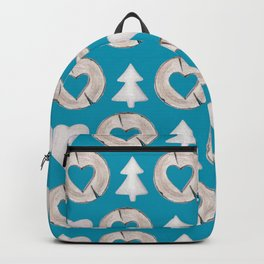 Xmas Classics Teal Backpack