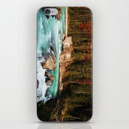 Natural Bridge Falls - Yoho, BC iPhone Skin