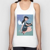 downton abbey Tank Tops featuring Abbey by Katherine Galo