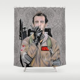 Bill Murray in Ghostbusters Shower Curtain