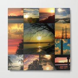 Sun collage Metal Print