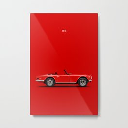 The TR6 Metal Print