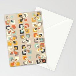 Retro seasons 04, Summer dusk Stationery Cards